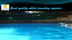 Great quality whilst providing superior customer  Commercial swimming pool design at Pune are experts in fully tiled, top quality swimming pools with structural details and complicated development complications being our strength.