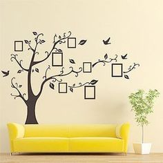 Description: Wall Black Art Photo Frame Memory Family Tree Stickers, Home Decor, Hot Deal! Other: Sticker On The Wall Black Art Photo Frame Memory Tree Wall Stickers Home Decor Family Tree Wall Decal. Deco Stickers, Photo Wall Stickers, Wall Stickers Home Decor, Wall Stickers Murals, Wall Decals, Sticker Vinyl, Tree Decals, Wallpaper Stickers, Family Tree Wall Decal