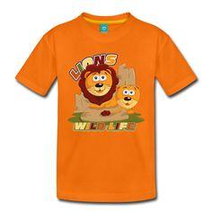 Tee Shirt Lions mignons - Tee shirt Premium Enfant