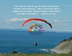 Live Life, Good Morning, Rainbow, Explore, Adventure, Movie Posters, Buen Dia, Rain Bow, Rainbows