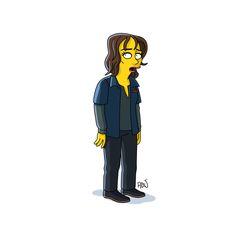 Stranger Things version Simpson : Joyce