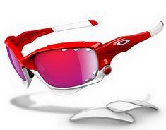06d4a60a7a71b Oakley Jawbone Polished Red Red Iridium Vented   Light Grey Sunglasses  Discount Sunglasses, Wholesale Sunglasses