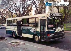 Colectivo de la línea 65. Mediados de los años 90. Busses, Nostalgia, Trucks, Cars, Vintage, Paper, Buenos Aires Argentina, Buenos Aires, Headboards