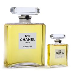 Classic Chanel perfume bottle 'No5'