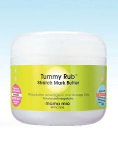 Mama Mio Tummy Rub Stretch Mark Butter - a must if pregnant (I love it! Stretch Mark Treatment, Stretch Mark Removal, Best Stretch Mark Creams, Prevent Stretch Marks, Borage Oil, Skin Elasticity, Shea Butter, Body Butter, Beauty Skin