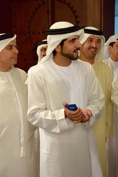 Crown Prince of Dubai, Sheikh Hamdan Bin Mohammed Al Maktoum, opens the tenth edition of Art Dubai 2016 that is held under the patronage of His Highness Mohammed Bin Rashid Al Maktoum, Vice President and Prime Minister of the United Arab Emirates, Ruler of Dubai at Madinat Jumeirah on March 15, 2016 in Dubai, UAE