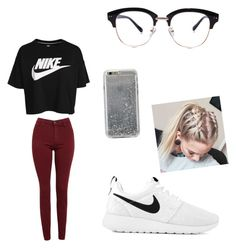 """""""Peyton the old man"""" by aaylabb8 on Polyvore featuring NIKE, Agent 18 and AG Adriano Goldschmied"""