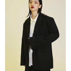 Measurements Size (cm) Bust Sleeve Shoulder Length S 112 68 48 77 M 116 69 49 81 Composition and Care Material: Cotton PolyesterGently Wash Korean Design, Oversized Blazer, Shoulder Sleeve, Duster Coat, Sleeves, Cotton, Jackets, Women