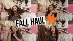 FALL TRY ON HAUL! 2016 | ASHLEY CONSTANCE