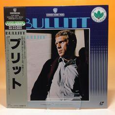 Bullitt (1968)  NJEL-01029 LaserDisc LD Laser Disc NTSC w/OBI Japan 67-044