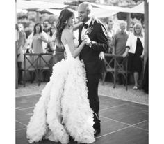 Samantha Wennerstrom In a Monique Lhuillier wedding gown 13 LA Style Stars on What They Wore to Their Weddings: (http://la.racked.com/archives/2014/06/10/13_la_style_stars_share_their_gorgeous_bridal_looks.php)