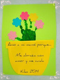 Soy Preescolar: #Creatividad para el Día de la #Madre  #Manualidades para…