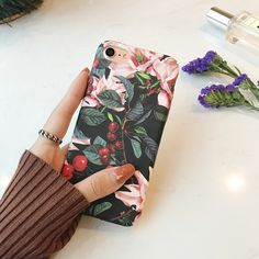 >> Click to Buy << Fahion Retro Flower Cherry Tree for iPhone7 plus Case Cover for iPhone 6 6s 6plus 6splus Frosted Hard Case Oil Painting Style #Affiliate