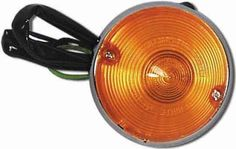 1955-1957 Chevy Parking Light Assembly w/ Amber Lens Each