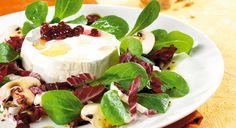 Salat mit gebackenem Camambert #lowcarb