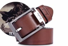 2015 cinturones de marca para hombre y mujeres 70% de cuero de vaca 30% de fibra, 12 estilo moda hombres del diseñador, buena calidad Ceinture DL01 en Cinturones y Fajas de Moda y Complementos Hombre en AliExpress.com   Alibaba Group