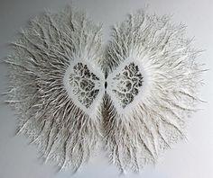 Paper Life – L'artiste Rogan Brown découpe des milliers de micro-organismes en papier | Ufunk.net