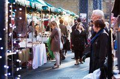 Old Spitalfields Market shoppers