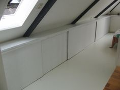 clean attic storage