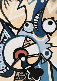 Minions take on Pablo Picasso, Picasso wins.