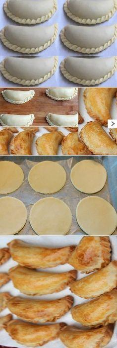 /0/ MASA CASERA para Empanadas Pinterest | https://pinterest.com/iminlovewiththekitchen/