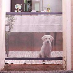 Retractable Indoor Pet Gate Great Household Ideas Pets