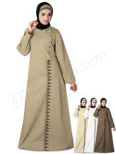 Wasimah Beige abaya, Burkha, Burqa, burqua, XS, S, M, L, XL, XXL, 2XL, 3XL, 4XL, 5XL, 6XL, 7XL,