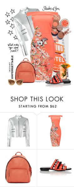 """""""Shades of You: Sunglass Hut Contest Entry"""" by vespagirl ❤ liked on Polyvore featuring Fendi, STELLA McCARTNEY, Fresca, Proenza Schouler, Coach and shadesofyou"""