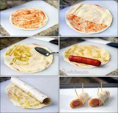 Hot Dog com Rap10 ~ PANELATERAPIA - Blog de Culinária, Gastronomia e Receitas