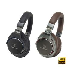 ATH-MSR7BK SonicPro® Over-Ear High-Resolution Audio Headphones from Audio-technica