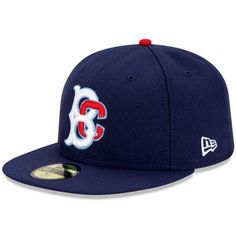 Brooklyn Cyclones Authentic Home Fitted Cap - MLB.com Shop