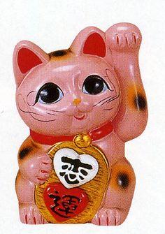 Romantic Heart Maneki Neko - want.