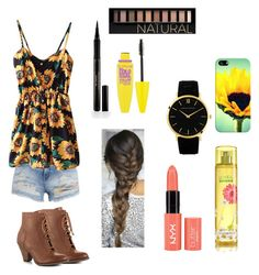 A fashion look from August 2015 featuring jean shorts, high heel booties and dress watch. Browse and shop related looks. Larsson & Jennings, Maybelline, Back To School, My Design, Fashion Looks, Casetify, Polyvore, Forever 21, Stuff To Buy