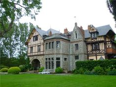 Old World, Gothic, and Victorian Interior Design: June 2012 - Other Upper Normandy France old tudor mansion built in 1878