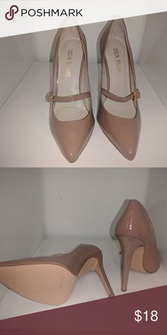 New Colin Stuart mary jane nude heels These Victorias secret Colin Stuart eels have never been worn. I own so many pairs of nude heels that I simply haven't given these any love. It's time for someone else to love them. Colin Stuart Shoes Heels