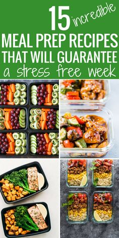 I have just started meal prepping. This article is getting pinned IMMEDIATELY for all my future use for meal prep recipes for breakfast, lunch, and dinner. Amazing resource for meal prepping.