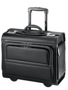 d&n Business & Travel Pilotenkoffer Leder 45 cm noir akpkwh6