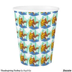 Thanksgiving Turkey Paper Cup
