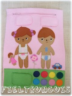 Lots of cute felt projects to scroll through
