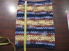 Bean Stitch - crochet