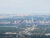 Denver, from Lookout Mountain where Buffalo Bill Cody is buried. The Plainsman will view the Great Plains for eternity.