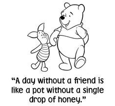 winnie the pooh quotes A. McLain: 10 Dinge Winnie the Pooh Tau . Cute Winnie The Pooh, Winnie The Pooh Quotes, Favorite Quotes, Best Quotes, Favorite Things, Alice And Wonderland Quotes, Friends Are Like, Pooh Bear, Disney Quotes