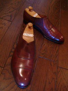 Edward Green side elastic shoe