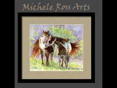 "Michele ""Mikala"" Ross - Artist: The Wild West, watercolors"