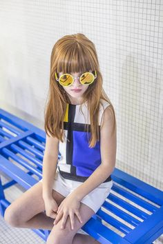 Lucía (Sugar Kids) for Petite Bergamote S/S 2017 - Emily Kornya Fashion Kids, Stylish Kids Fashion, Toddler Fashion, Fashion Art, Little Girl Outfits, Little Girl Fashion, Kids Outfits, Style Hipster, Shoe Size Chart Kids