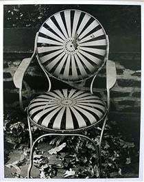 Garden Chair, Autumn, 1941 by Edward Weston Minimalist Photography, Modern Photography, Still Life Photography, Color Photography, Black And White Photography, People Photography, Edward Weston, Ansel Adams, Black And White People