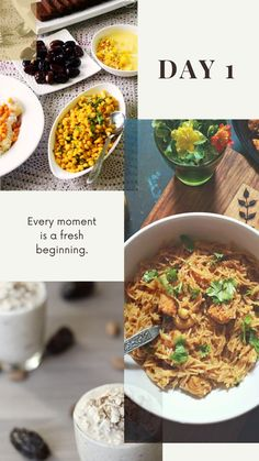 In picture, Dates, Hyderabad Style Chana Dal for Iftar Cashew Chicken Vermicelli in Dinner and dates and almond smoothie for Suhoor. Indian Food Recipes, Vegan Recipes, Ethnic Recipes, Chicken Vermicelli, Tea Time Snacks, Vegan Meal Plans, Cashew Chicken, Weekly Meal Planner, Iftar