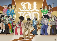 Soul Train Party Items | Soul Train