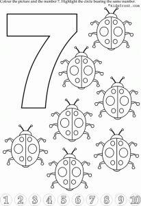 Preschool Number 7 Worksheets (3)