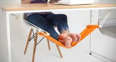 Funny pictures about Now I Want An Under-The-Desk Foot Hammock. Oh, and cool pics about Now I Want An Under-The-Desk Foot Hammock. Also, Now I Want An Under-The-Desk Foot Hammock photos. Home Decoracion, Rest House, Diy Inspiration, Feet Care, Cool Gadgets, Unique Gadgets, Foot Rest, Inventions, Things I Want
